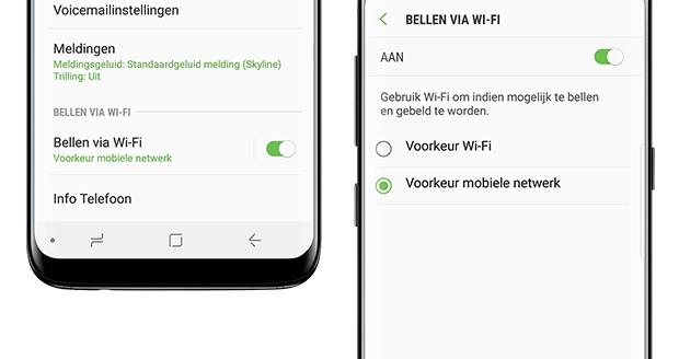 Samsung Galaxy S10 - WiFi Calling - VoWiFi - Tribe