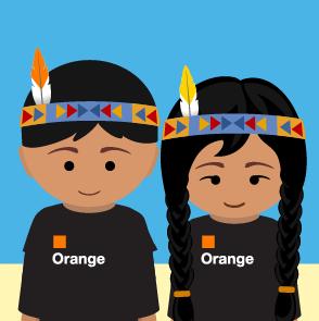Employé Orange